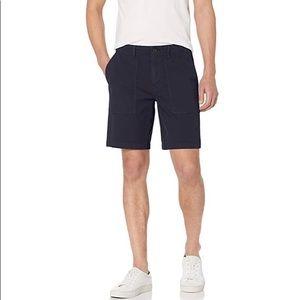 "Mens Goodthreads Navy Canvas Shorts 9"" Waist 32"
